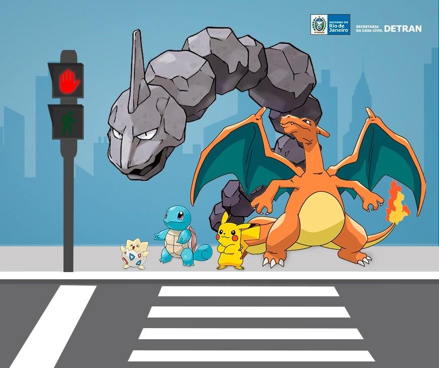 A campanha envolvendo o Pokémon Go