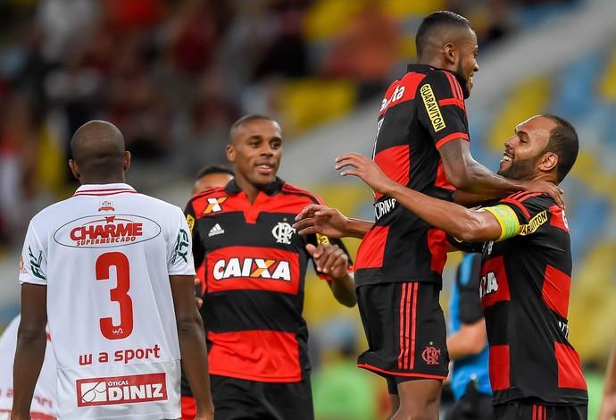 Alecsandro Flamengo x bangu (Foto: Ide Gomes/Frame/Agência Estado)