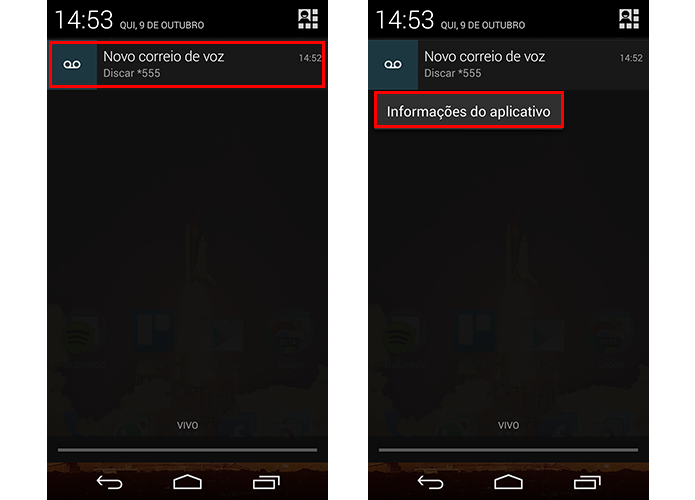 Segure para abrir mais informações sobre app (Foto: Reprodução/Paulo Alves)