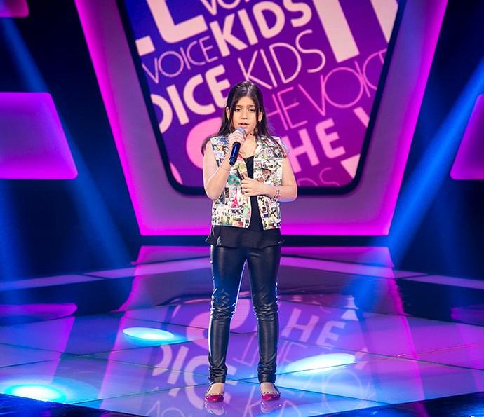 Marina Silveira canta 'We remain' na Audição do The Voice Kids (Foto: Isabella Pinheiro/Gshow)