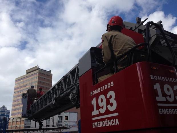 Simulado do Copo de Bombeiros inicia semana especial em Alagoas (Foto: Natália Souza/G1)