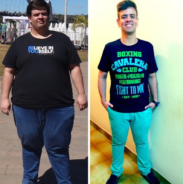 Em um ano e cinco meses, Arandir emagreceu 80 kg (Foto: Acervo pessoal)