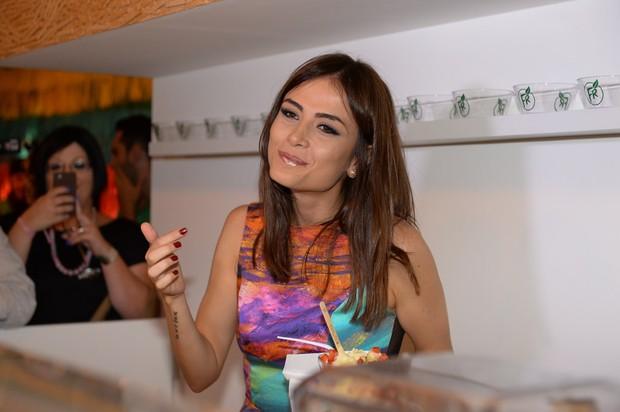 Maria Casadevall em evento em São Paulo (Foto: Francisco Cepeda/ Ag. News)