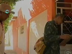 Exército ajuda no combate ao mosquito Aedes aegypti em Salgueiro (Foto: Reprodução / TV Grande Rio)