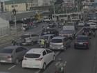 Acidente na Av. Herculano Bandeira congestiona Zona Sul do Recife