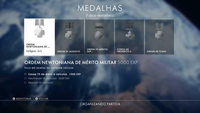 Abuse do novo sistema de medalhas de Battlefield 1 (Foto: Reprodução/Murilo Molina)