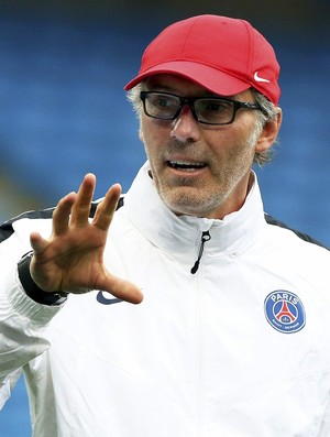 Blanc no treino do Paris Saint-Germain PSG (Foto: EFE/Nigel Roddis)