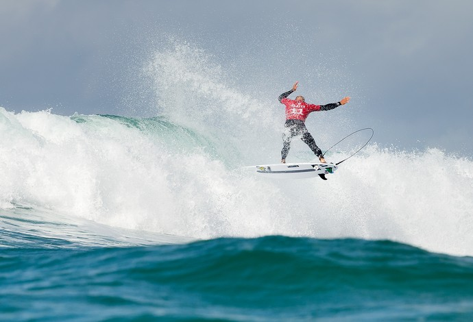Kelly Slater em ação na etapa de Jefrreys Bay pelo Mundial de Surfe 2015 (Foto: Divulgação / WSL)