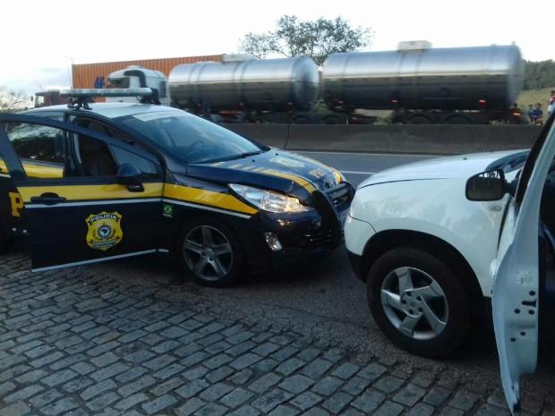 Motorista tinha alugado carro (Foto: Divulgação/PRF)