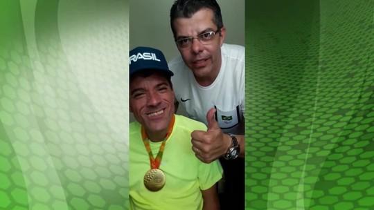 Ouro na Paralimpíada, Tó agradece torcida do Vale do Paraíba; veja vídeo