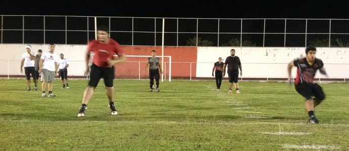 Sergipe Bravos 0 x 41 João Pessoa Espectros, pelo Campeonato Brasileiro de Futebol Americano (Foto: Divulgação / JP Espectros)