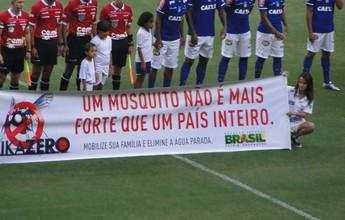 Xô, Zica! Cruzeiro e Tupi entram na campanha contra o Aedes Aegypti