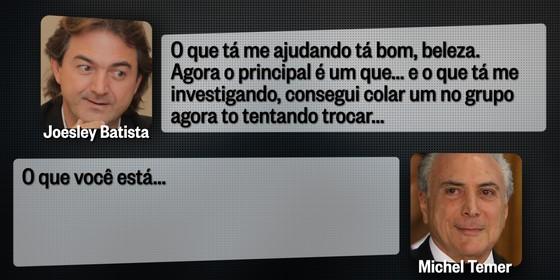 Joesley Batista gravou conversa com Michel Temer, em que descreve compra de procurador (Foto: ÉPOCA)