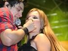 Luan Santana para ex-BBB Cacau: 'Estou sempre torcendo por você'