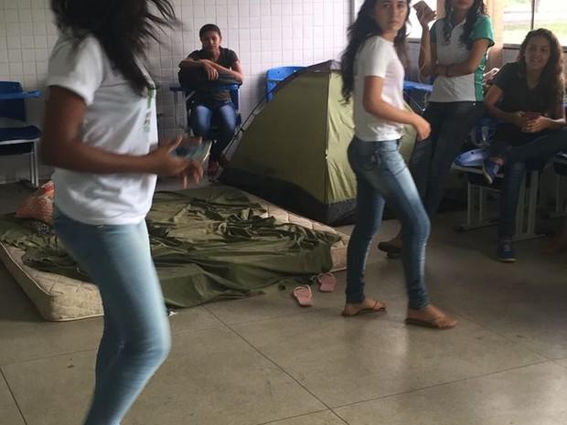 Estudantes do IFTO ocupam câmpus do IFTO (Foto: Divulgação)