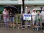 Familiares lotam e aquecem Floripa  na torcida pelos candidatos a Ironman