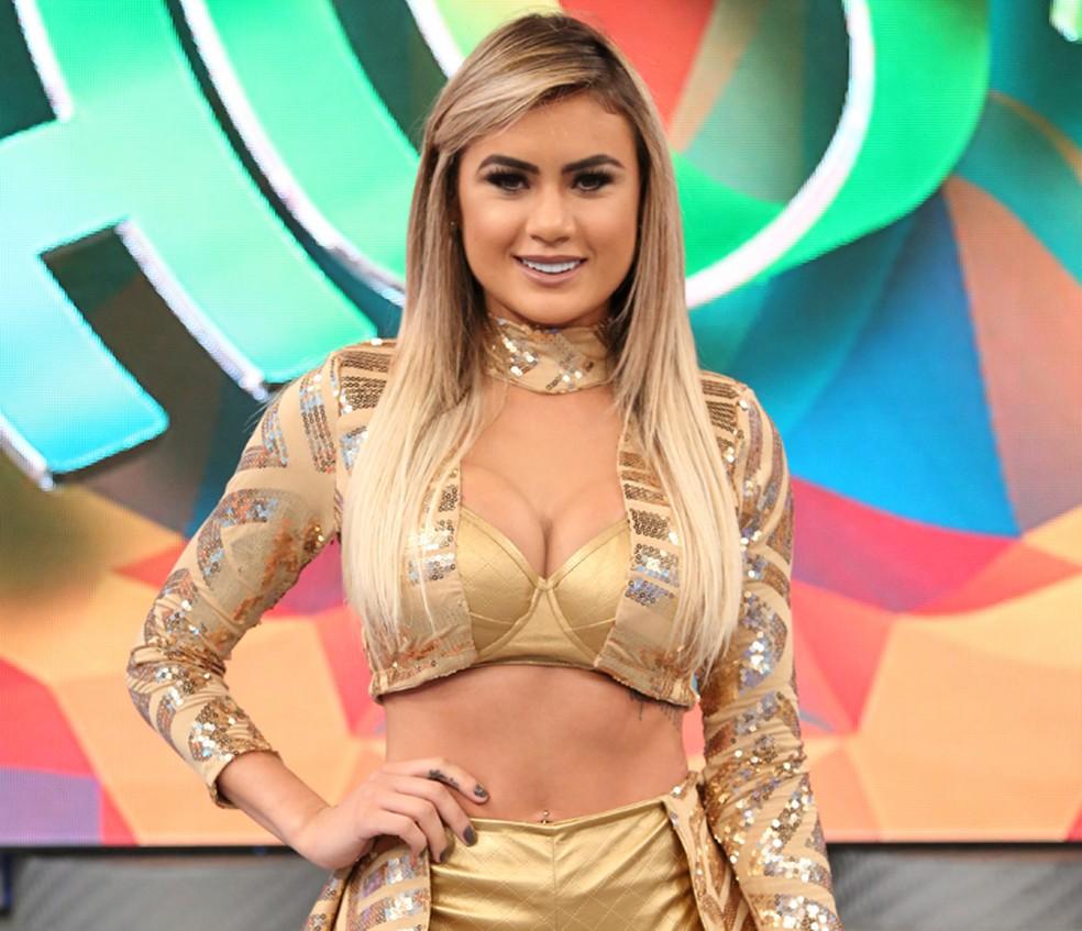 Natacha Horana é conhecida pela semelhança com Ellen Rocche (Foto: Carol Caminha / Gshow)