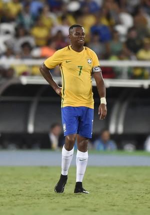 Robinho Brasil x Colombia Engenhao (Foto: André Durão)