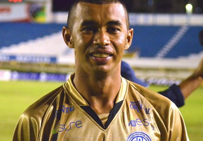 Ricardo, goleiro do Confiança (Foto: João Áquila/GLOBOESPORTE.COM)