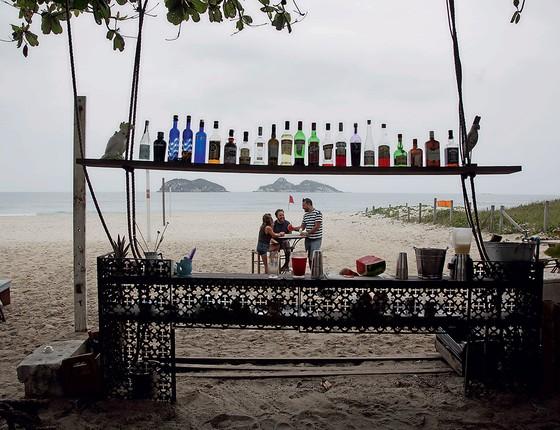 O Atlântico oferece drinques surpreendentes na Barra (Foto: Custodio Coimbra/O Globo)