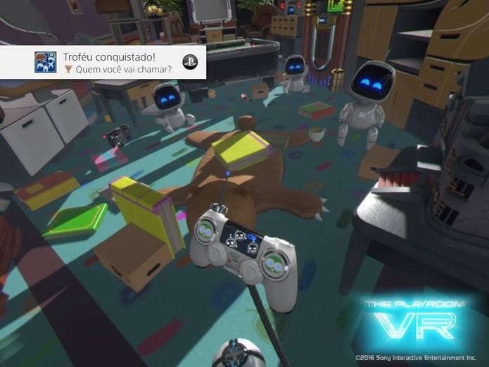 The PlayRoom VR (Foto: Reprodução/Felipe Vinha)