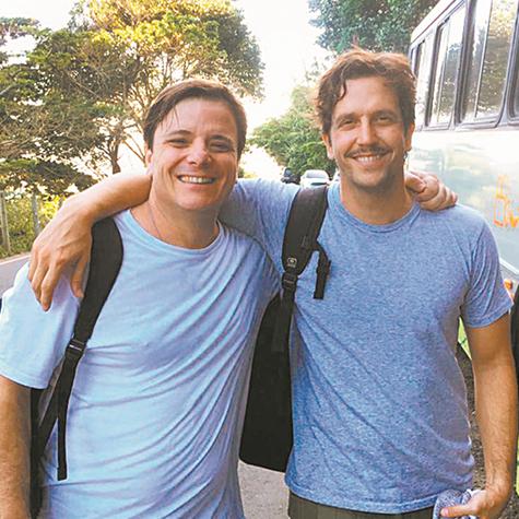 Vladimir Brichta e Thelmo Fernandes em 'Cidade proibida' (Foto: Divulgação)
