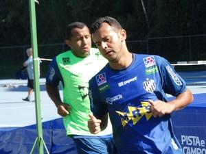 Genalvo e Fabrício Soares Tupi-MG (Foto: Bruno Ribeiro)