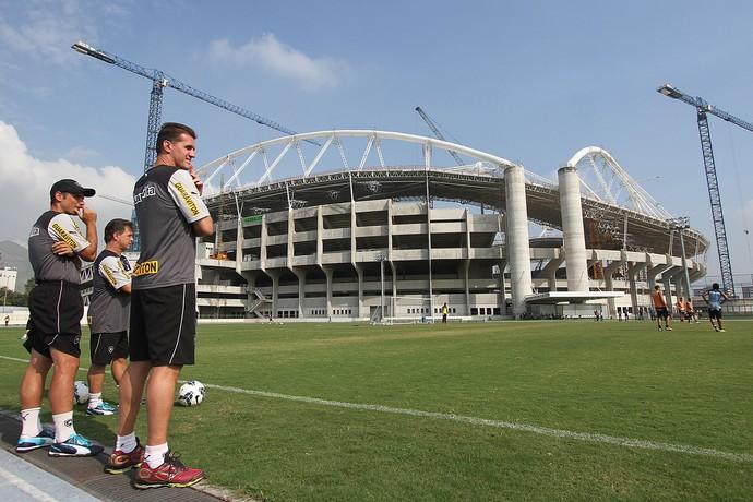 Vagner Mancini Engenhão Botafogo (Foto: Satiro Sodré / Botafogo)