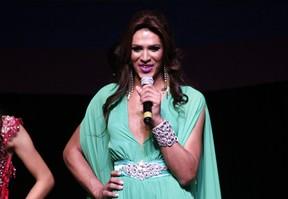 Candidata de Araraquara no Miss São Paulo Gay 2016 (Foto: Celso Tavares/ EGO)