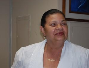 Rosilene Gomes, presidente da Federação Paraibana de Futebol (Foto: Renata Vasconcellos)