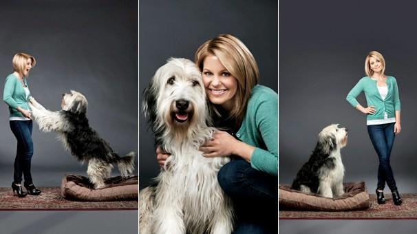 Em 'Família por Acaso', filme inédito na Sessão da Tarde de terça, dia 11, mulher adota cachorro mas o dono reaparece (Foto: Divulgação)