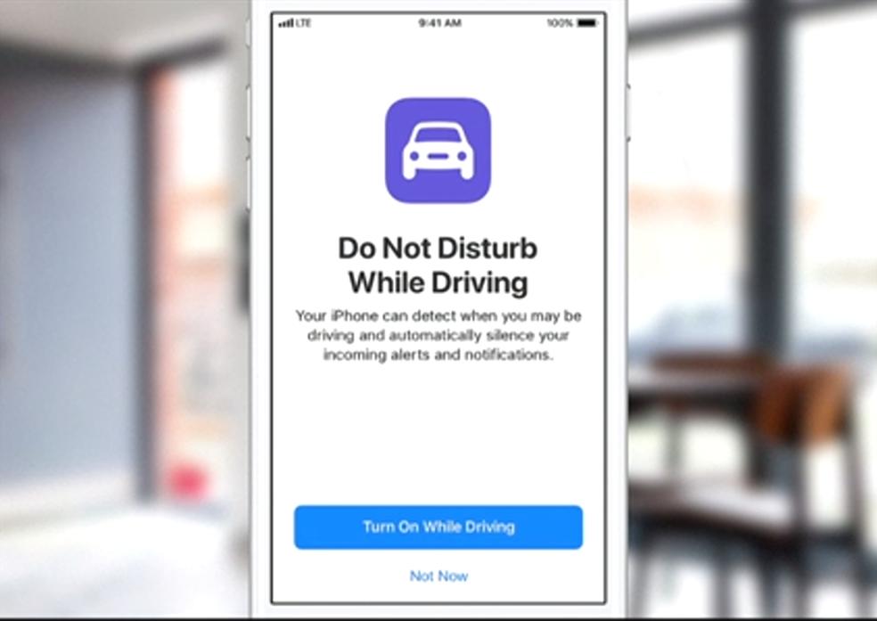 iOS 11 é capaz de reconhecer quando motorista está dirigindo (Foto: Reprodução/Apple)