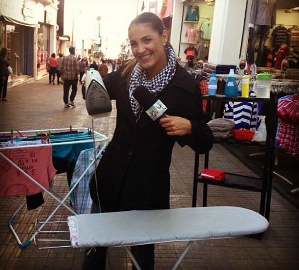 Luciana Martins mostra dicas para deixar as roupas bem passadas (Foto: Reprodução/Internet)