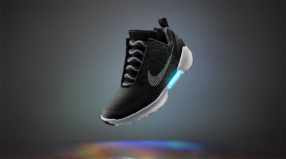 Nike HyperAdapt: tênis tem um sistema de amarração automática  (Foto: Divulgação)