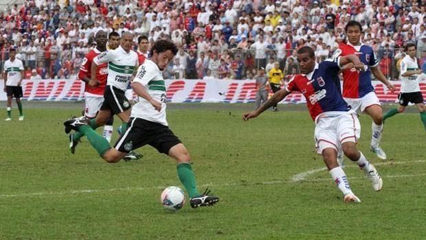 Globo Esporte Paraná (Foto: Divulgação/site oficial do Coritiba)