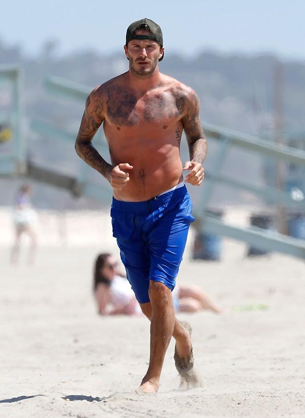 David Beckham (Foto: Splash News/ AKM-GSI-Brasil)