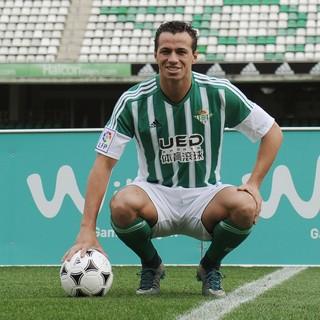 Leandro Damião apresentado Betis (Foto: Getty Images)