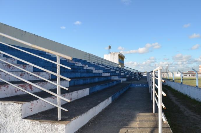 Estádio Texeirão em Santa Rita (Foto: Yordan Cavalcanti / GloboEsporte/pb)