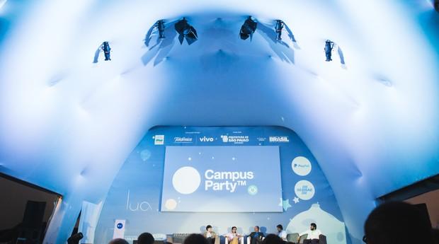 Palco Lua, na Campus Party, vai receber o evento da PEGN (Foto: Willian Alves / goo.gl/dVuHT8)