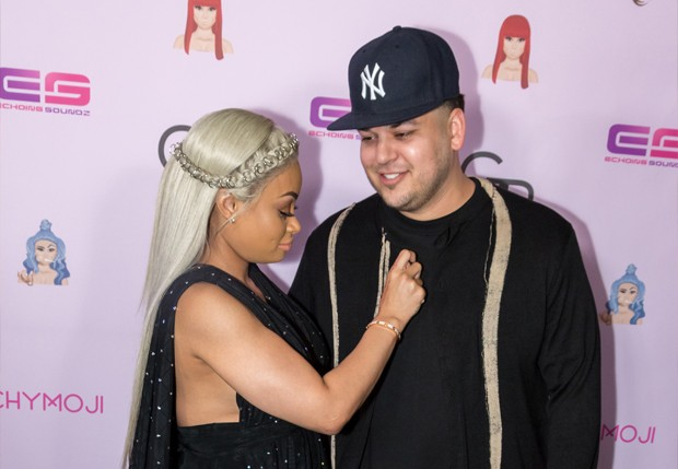 Rob Kardashian e Black Chyna (Foto: Getty Images)