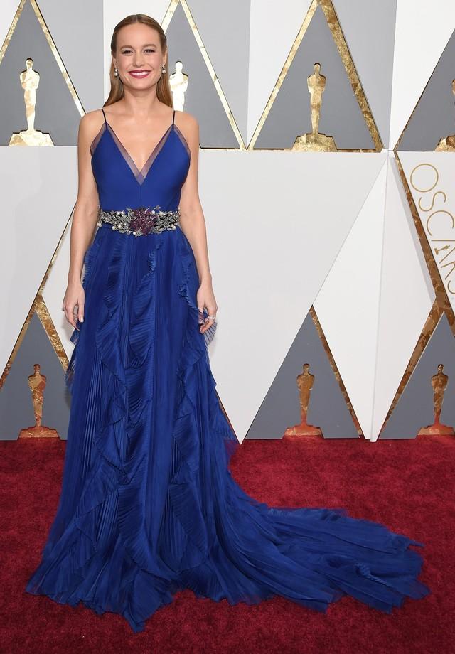 Brie Larson - Gucci - 2016 (Foto: Getty Images)