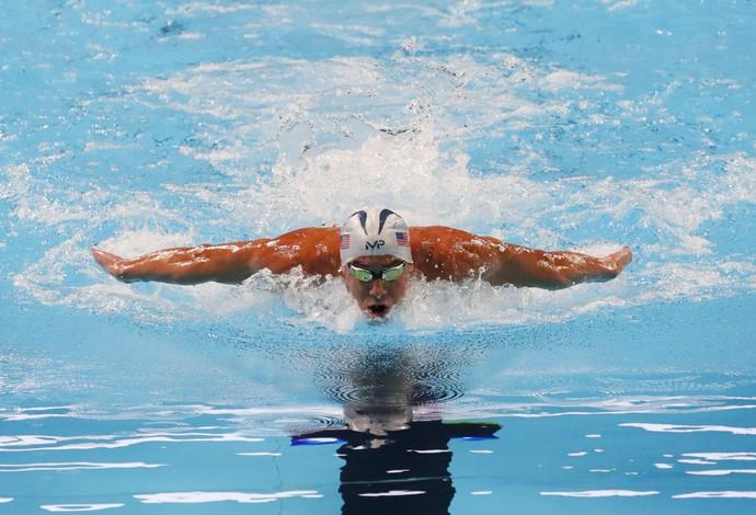 Phelps no trials de natação dos EUA (Foto: Erich Schlegel-USA TODAY Sports)