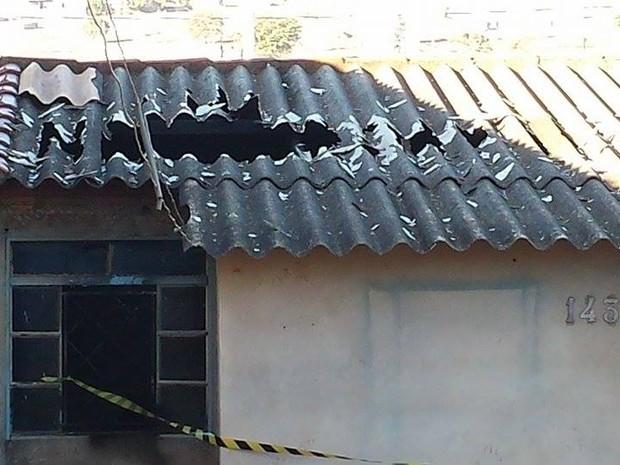 Presidente Olegário crianças queimadas (Foto: Fernanda Resende/G1)
