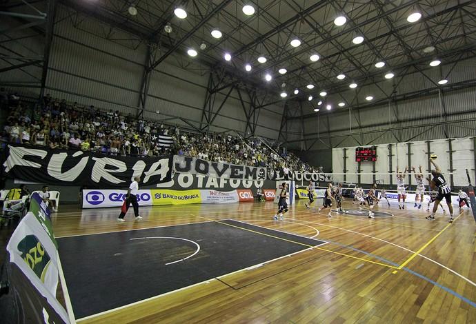 Botafogo conta com o apoio da sua torcida para vencer a Superliga B (Foto: Vítor Silva/SSPress/Botafogo)