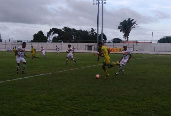São José venceu o Sampaio e entrou na zona de classificação do Grupo A (Foto: João Ricardo / GloboEsporte.com)
