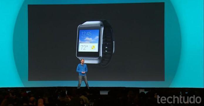 Relógio da Samsung é à prova d'água (Foto: Reprodução / Google)