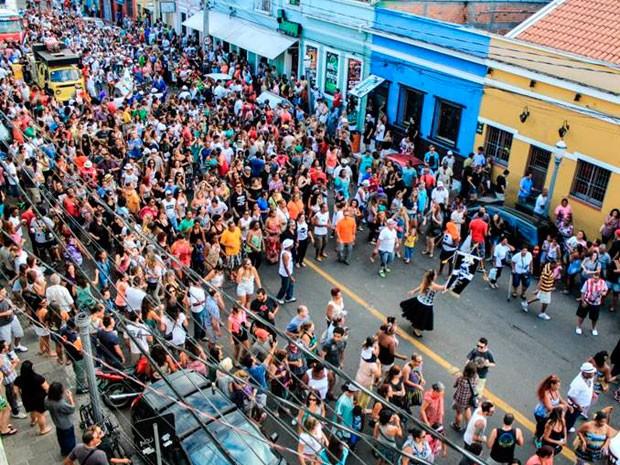 Carnaval de Rua da Cidade Baixa Porto Alegre (Foto: Gustavo Vara/Divulgação)