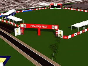 Fan Fest da Copa em Cuiabá terá vai receber até 56 mil torcedores, diz Fifa (Foto: Secopa/MT)