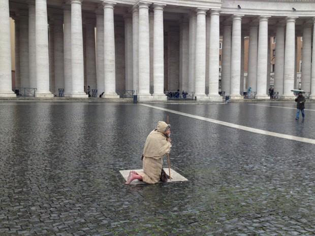 Fiel Coppo Juliana cardilli vaticano franciscano (Foto: Juliana Cardilli/G1)
