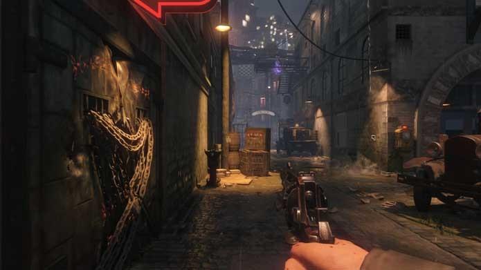 Call of Duty: Black Ops 3: modo Zombies continua muito bonito (Foto: Reprodução/Murilo Molina)
